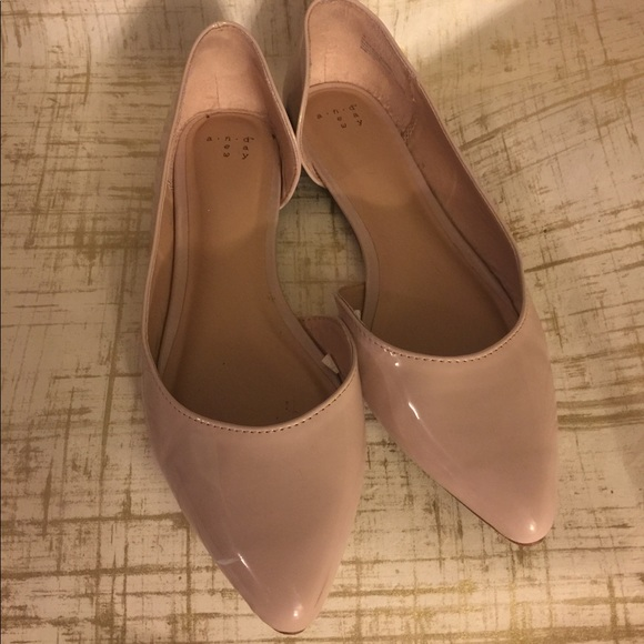 394e32abf5d a new day Shoes - Target Patent Leather Nude Flats 10